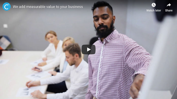 Add measurable value to your business